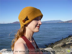 If it's Autumn, you must need a hat!  My new cloche hat