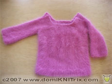 my first baby sweater - the deco baby pullover